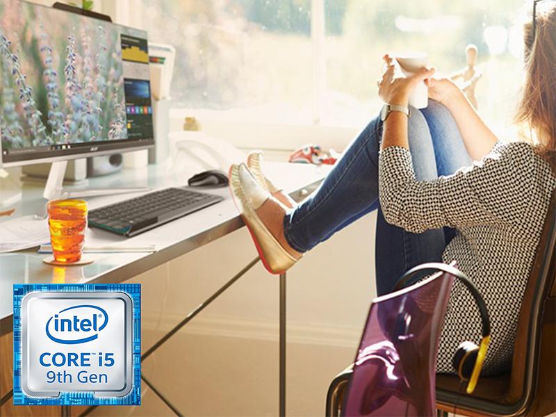 Acer Aspire Z24-890 9th Generation Intel Core i5 23.8 Full HD SSD