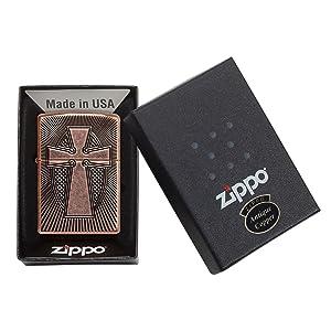 spiritual, religious, packaging, zippo, zippo lighter, windproof, cross, rosary, black ice, crosss