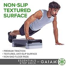 Non-Slip Textured Surface