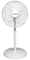 stand fan 16 inch, household fan, home fan, stand fan, pedestal fan, oscillating, white fan