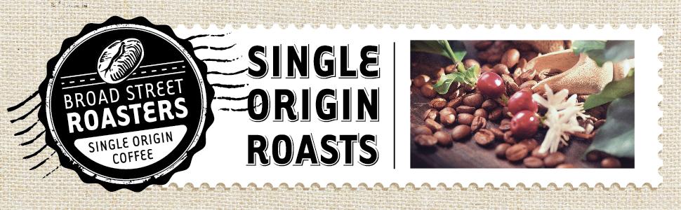 Broad Street Roasters Single Origin Coffee