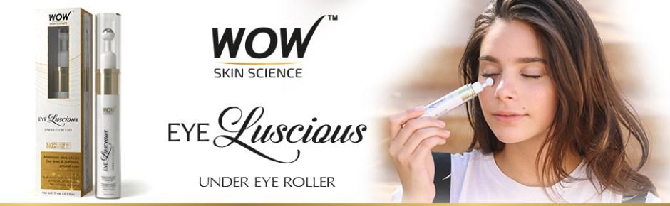 WOW Skin Science Eye Luscious Under Eye Roller