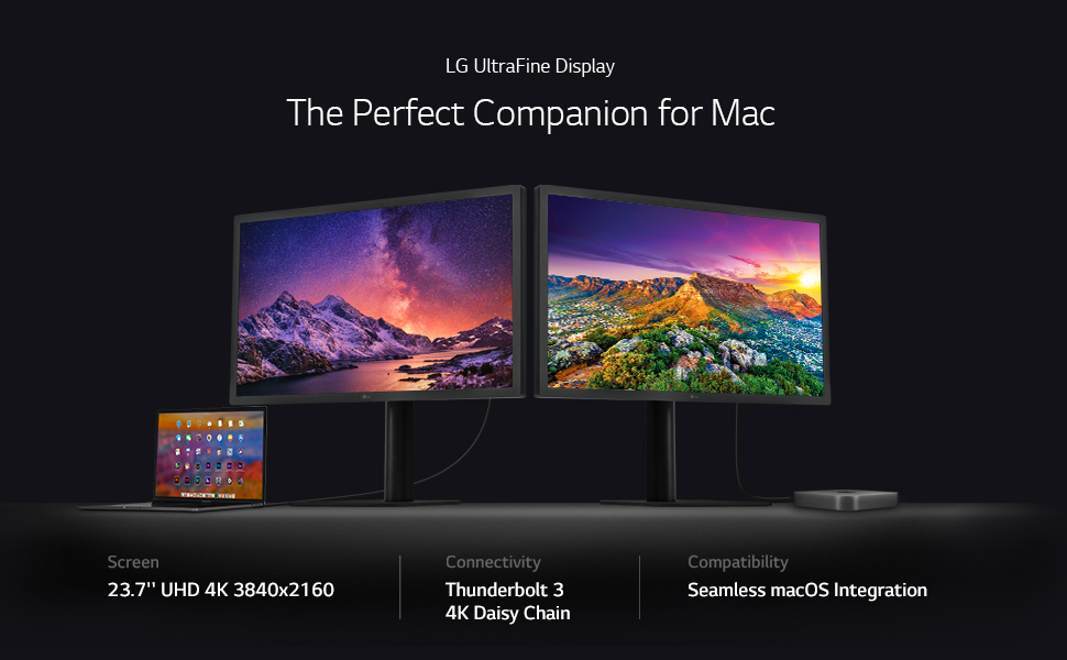 UltraFine 4K Monitor with macOS Compatibility