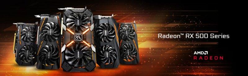 radeon, rx 500, amd, graphics card, video card, gpu, rx 580, gigabyte, aorus