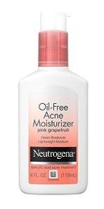 Neutrogena Oil-Free Pink Grapefruit Acne Fighting Moisturizer with Salicylic Acid