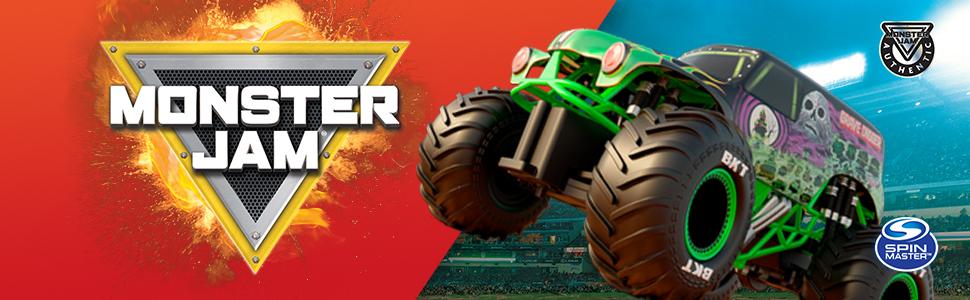Monster Jam, Grave Digger, caminhão, veículo