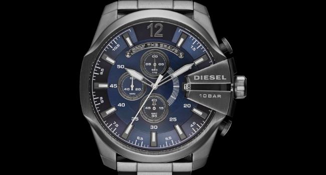 Diesel watch quality materials