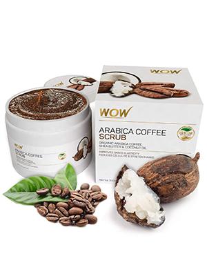 Wow Skin Science Arabica Coffee Scrub