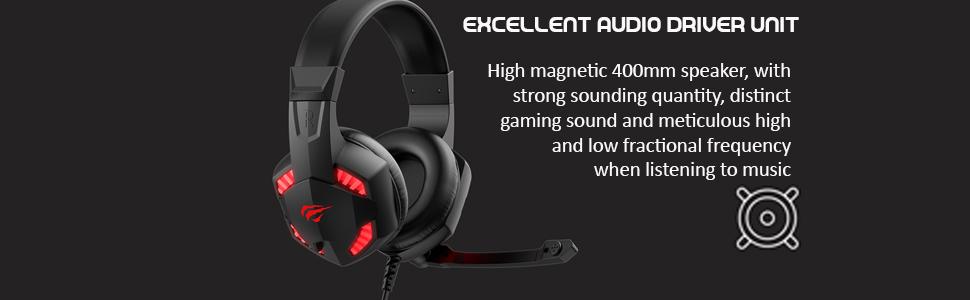 Excellent audio drive unit