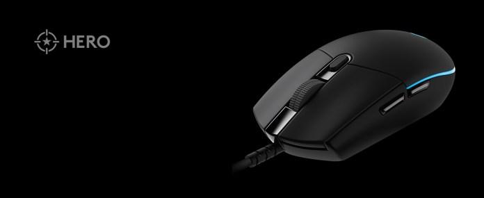 Amazon Com Logitech G Pro Hero Gaming Mouse Black Computers Accessories