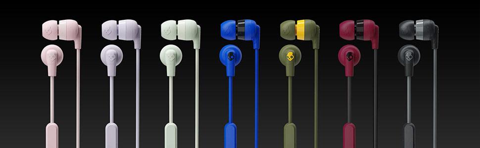Ink'd+ Earbuds Colorways