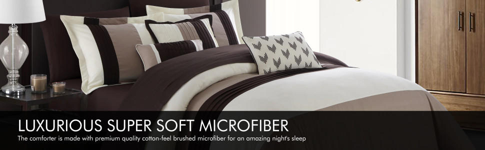 Chic Home Luxurious Super Soft Microfiber