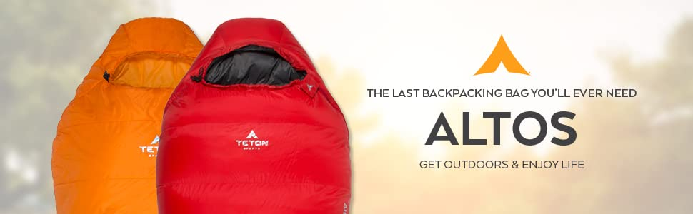TETON Sports Altos sleeping bag