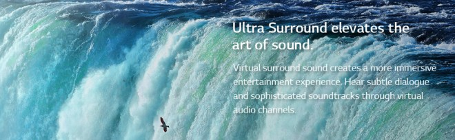 ultra surround sound