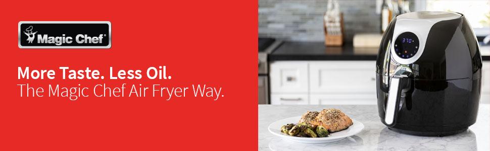 magic chef, oiless, oil free, air fryer, airfryer xl, power