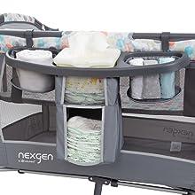 Baby Nursery Center Bed