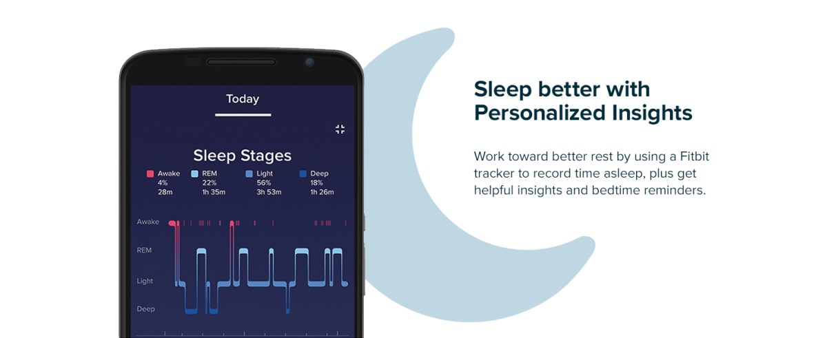 sleep better with personalized insights