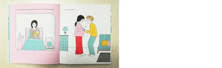 la Margherita edizioni; albi illustrati; gravidanza; Ettore; mamma e papà; genitori; amore; pancione
