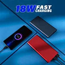 18 Watt Fast Charging