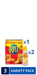 RITZ Cracker Easy Cheese Variety Pack