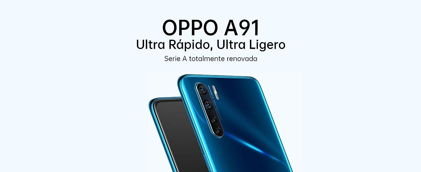 Smartphone OPPO A91 Negro