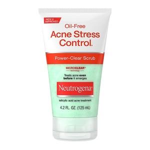 Oil-Free Acne Stress Control Power-Clear Scrub