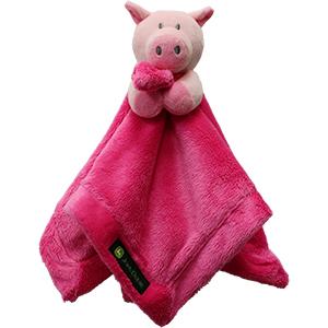 John Deere Kids Cuddle Blanket, John Deere Kids, Cuddle Toy, Pig