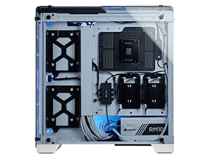 CC-9011110-WW Crystal Series 570X RGB ATX Mid-Tower Case — White
