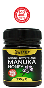 AJARA New Zealand Manuka honey 400+