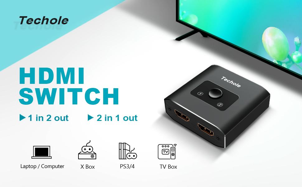 Techole HDMI Switch