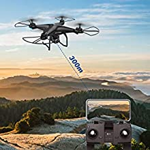5-Holy Stone HS120D FPV GPS Drone with Camera 1080P RC Quadcopter Altitude Hold