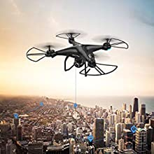4-Holy Stone HS120D FPV GPS Drone with Camera 1080P RC Quadcopter Altitude Hold