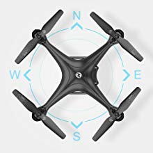 8-Holy Stone HS120D FPV GPS Drone with Camera 1080P RC Quadcopter Altitude Hold