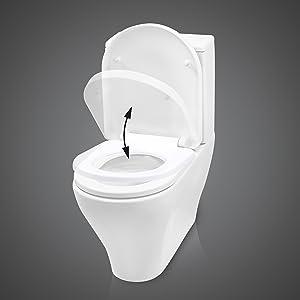 Cenzano Toilettendeckel mit Absenkautomatik