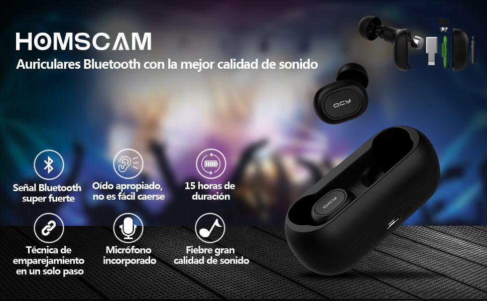 Auriculares Bluetooth auriculares inalámbricos Auriculares Bluetooth Inalámbricos auriculares