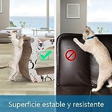 Superficie estable y resistente.
