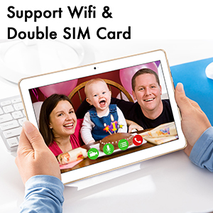 tablet- Double sim card