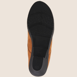 Thick rubber sole