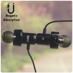 magnetic attraction earphones