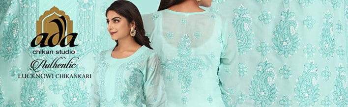 Ada Hand Embroidered Lucknow Chikan