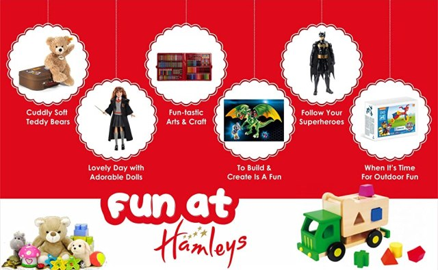 Hamleys Range of toys