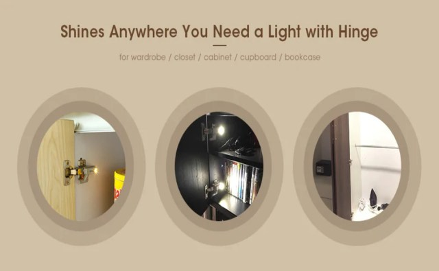 hinge led lights