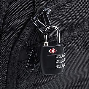TSA Approved Luggage Metal Number Lock (