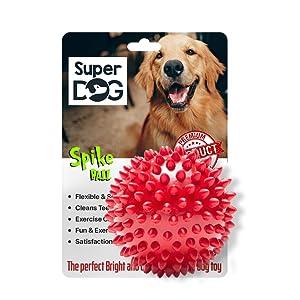 super dog spike ball
