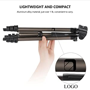 lightweight aluminium tripod for mobile camera dslr gopro