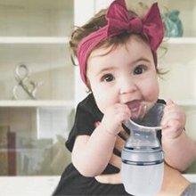 Haakaa Tire-lait manuel de troisième génération – Tire-lait manuel multifonction et biberon 160 ml