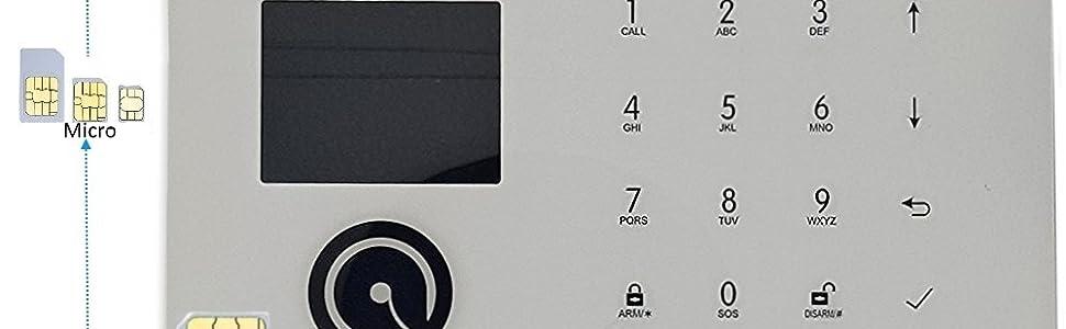 Allarme GSM
