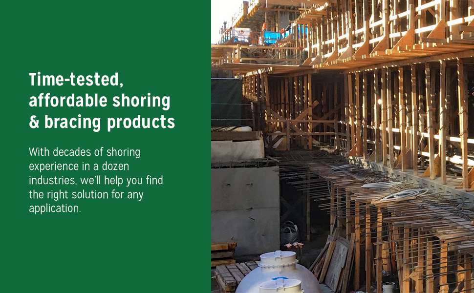 Ellis Manufacturing, time-tested, affordable shoring & bracing products