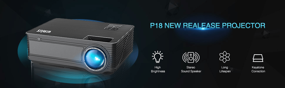 P18 3800 lumens projector