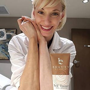 beauty by earth natural organic skin moisturizer best self tanner fake bake bronze color tan women